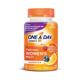VitaCraves One A Day Multivitamin Gummies