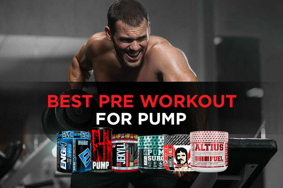 Best Pre Workout For Pump Featured Image