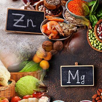 magnesium and zinc