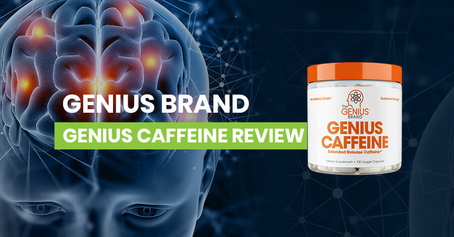 Genius Brand Genius Caffeine Review Featured Image