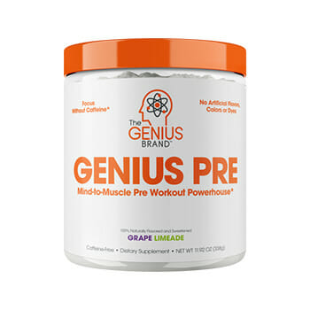 Genius Mind-to-Muscle Pre-Workout Powerhouse Powder