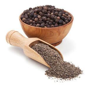 Black Pepper In Bowl