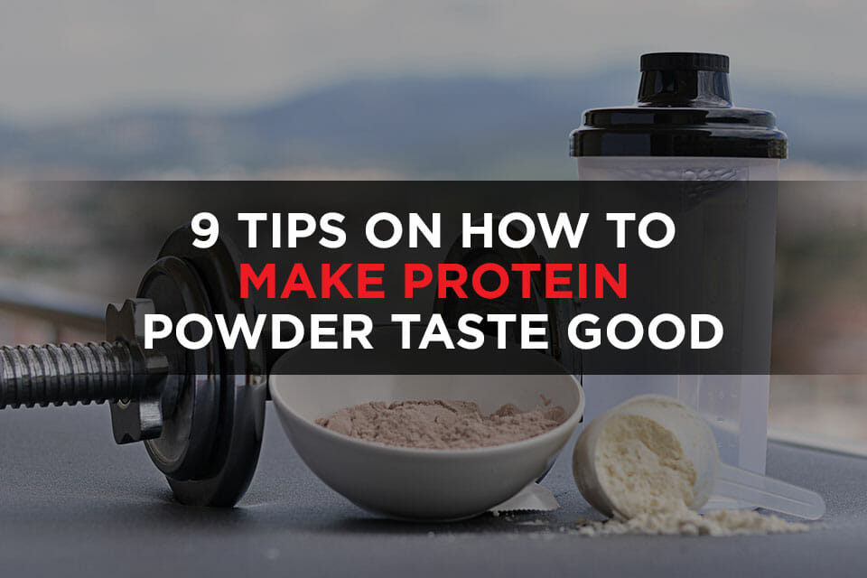 How To Make Protein Powder Taste Good featured image
