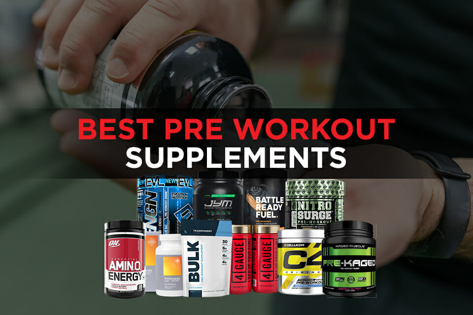Best Pre Workout Supplements featured Image