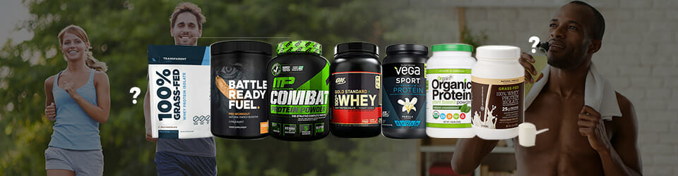 Best protein powders for runners FAQ Banner