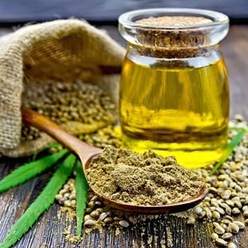 Hemp Protein and  Hemp Oil