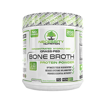 Necessity Nutrition Bone Broth Product