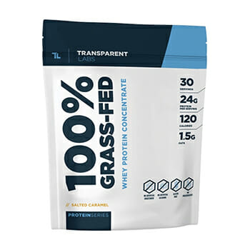 Transparent Labs Protein Series 100% Grass-fed Whey Protein Concentrate product