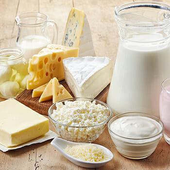 Cheese, Milk and other Dairy Products