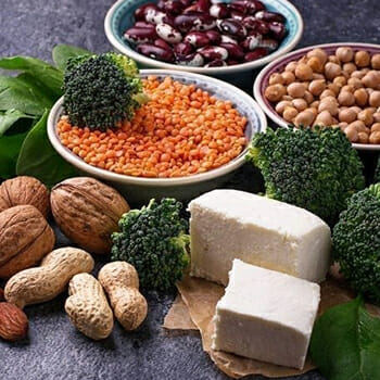 Broccoli, Nuts, Seeds and other vegetables