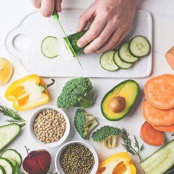 Avocado, Broccoli, Carrot, Capsicum, Seeds etc