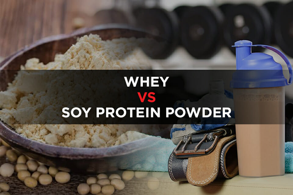 Whey Vs Soy Protein Powder New Featured Image