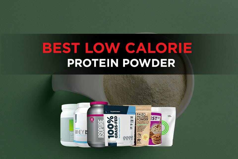 Best Low Calorie Protein Powder Featured Image