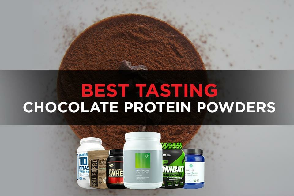Best Tasting Chocolate Protein Powders Featured Image