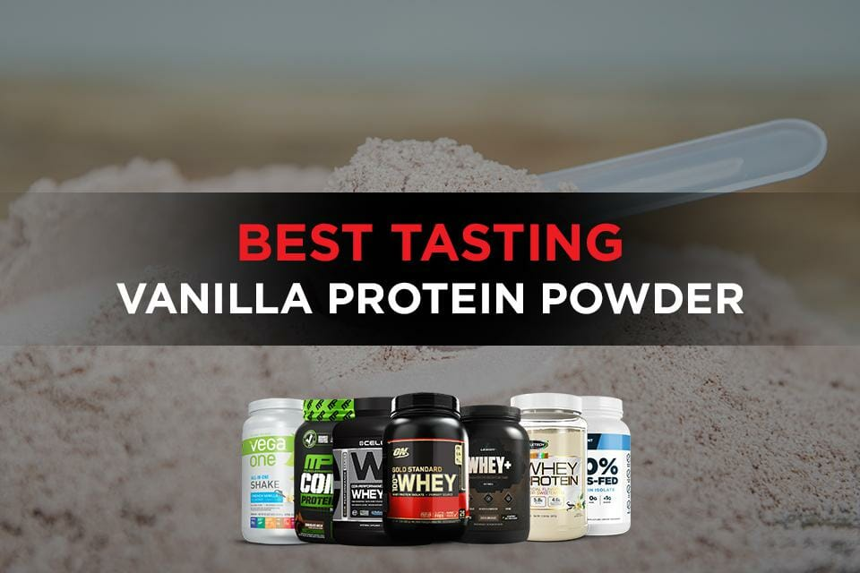 Best tasting vanilla protein powder Featured