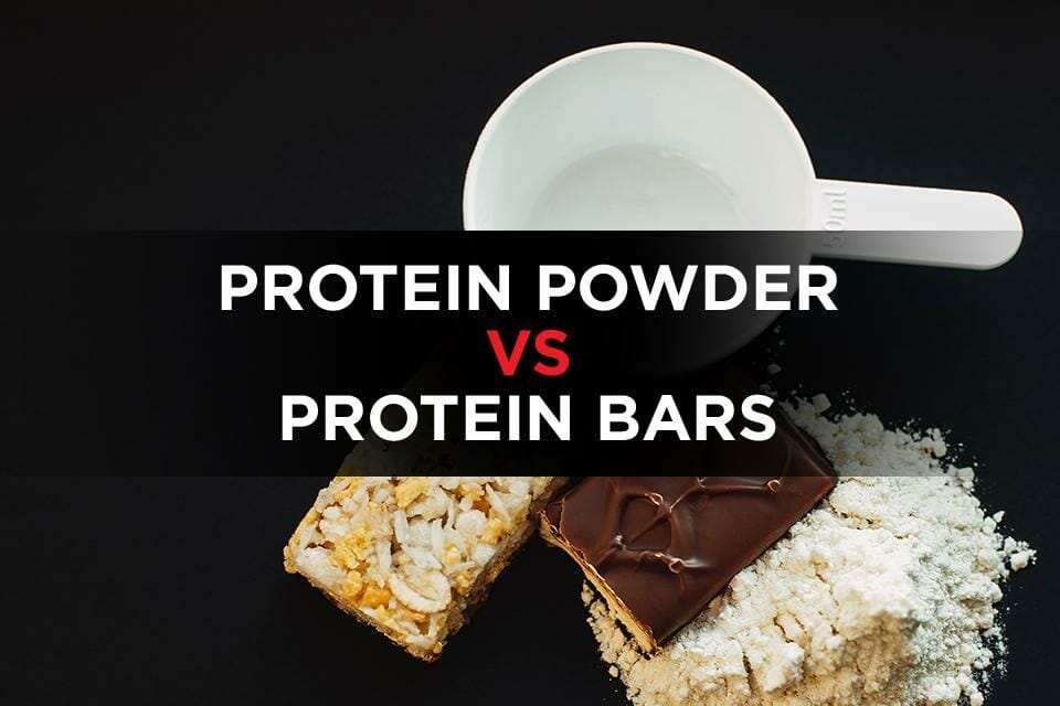 Protein Powder Vs Protein Bars Featured Image
