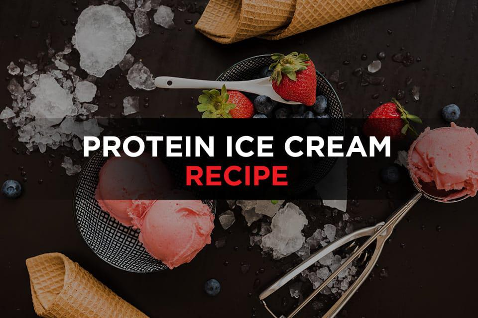 Protein ice cream recipe Featured