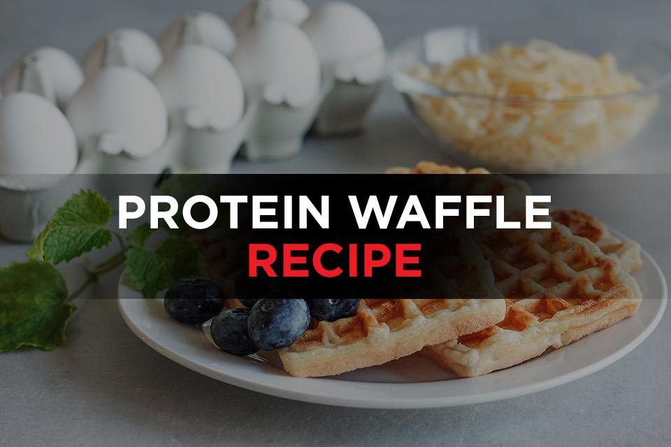 Protein waffle recipe Featured