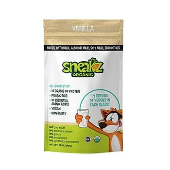 Sneaks Organic Smoothie Mix Product