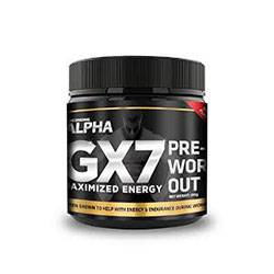 ALPHA GX7 Pre Workout Product