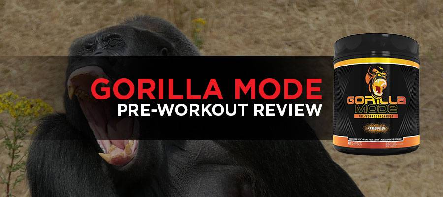 Gorilla Mode Pre-Workout Review Featured Image