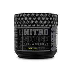 NitroSurge Black Preworkout Product