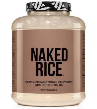 naked rice organic brown rice protein powder