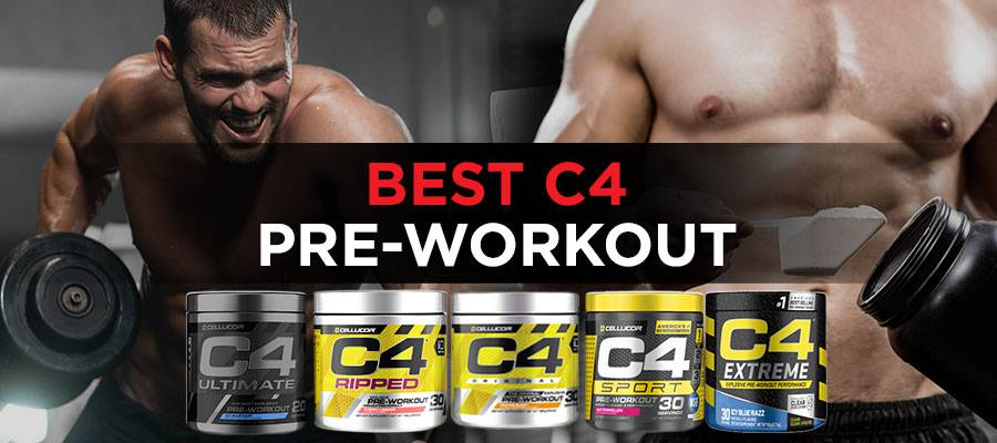 Best c4 pre workout featured image