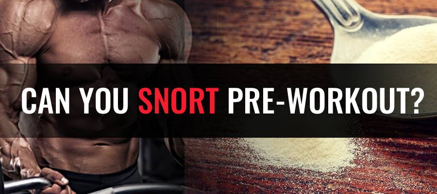 CAN YOU SNORT PRE-WORKOUT Featured image