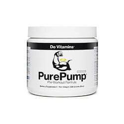 Do Vitamins PurePump Natural Pre-Workout