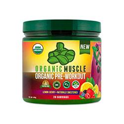 Organic Muscle Organic Pre-Workout Powder