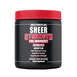 Sheer Strength Pre-Workout Supplement