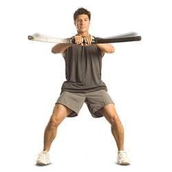 man using bodyblade