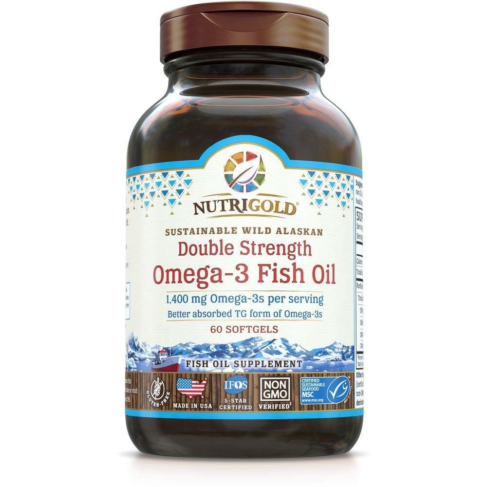 nutrigold double strength fish oil