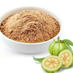brown powder in bowl