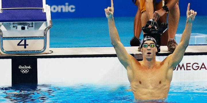 michael phelps workout routine banner