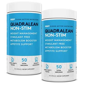 RSP Nutrition QuadraLean Stimulant Free
