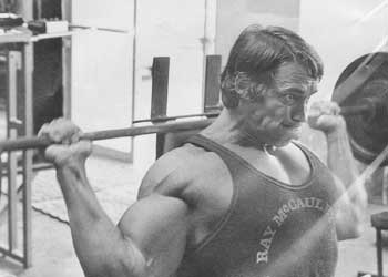 shoulders and bench press