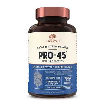 Livewell Pro-45 Live Probiotics