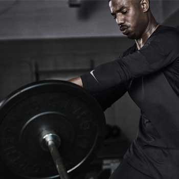 Michael B Jordan Training