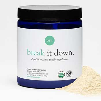 Ora Organic Plant-Based Digestive Enzymes Powder
