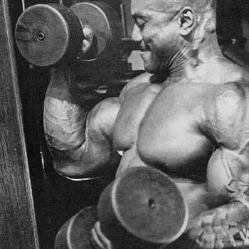 Sergio Bicep Training