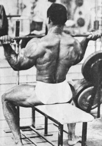 Sergio Oliva Workout