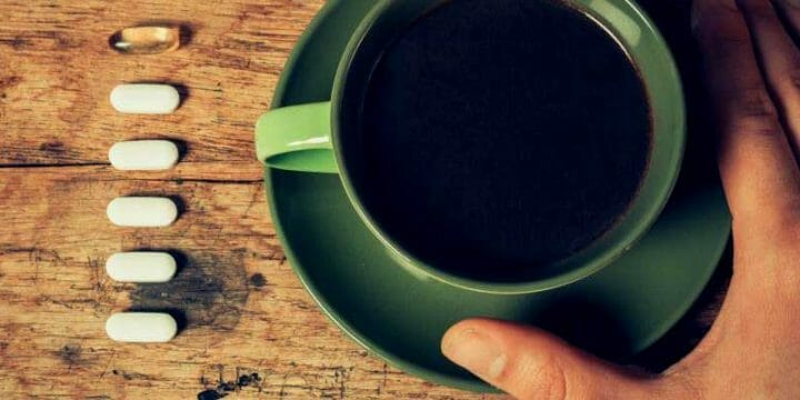 caffeine pills banner