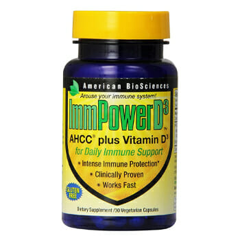 American BioSciences ImmPowerD3 AHCC & Vitamin D3