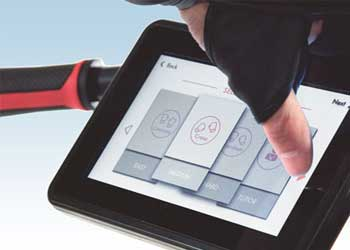 Cycle Boxer Touch Screen Display