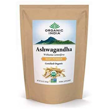 ORGANIC INDIA Ashwagandha Bulk Herb Powder