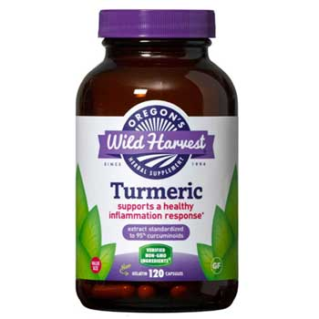 Oregon's Wild Harvest Turmeric Curcumin Supplement