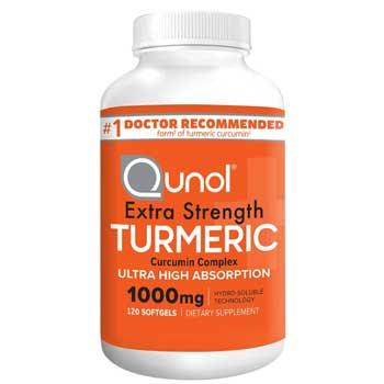 Qunol Turmeric Curcumin Softgels