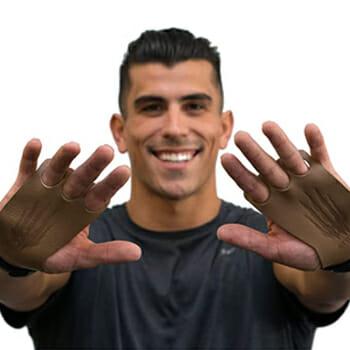 Bear Komplex Leather Hand Grips